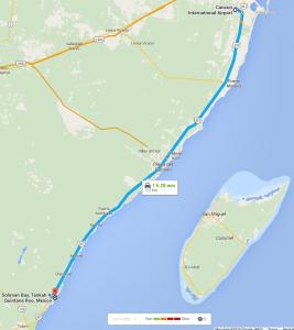 Maps Directions Vacation Rental In Riviera Maya Nah Alux
